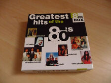 8 CD BOX Greatest Hits of the 80`s: 144 canzoni Kim Wilde IL GAZEBO BLONDIE GO West