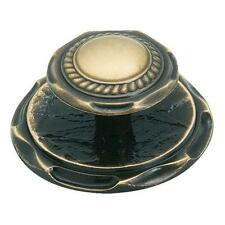 25-Amerock Carriage House Antique English Cabinet Door Knob & Backplate BP778-AE