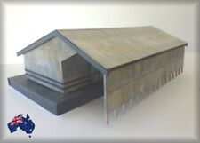 HO Scale Australian WGS Format 60' Split Level Goods Shed with Gable Roof
