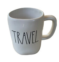 NEW RAE DUNN by Magenta TRAVEL Coffee Tea Mug Farmhouse Decor