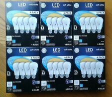 24 GE LED 60w = 9w Soft White Light Bulbs 60 Watt Equivalent 24 Total Bulbs