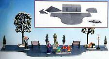 Lemax Plaza System Grey Marktplatzgestaltung, Weihnachtsdorf, Modellbau,