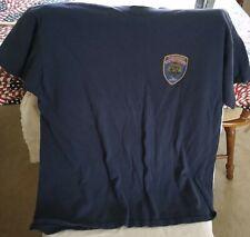 San Francisco Fire Dept Paramedic Men's Fruit-of-the-Loom Beefy T-Shirt, XL
