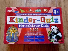 Kinder-Quis für schlaue Kids 3.300 Fragen & Antworten Lernspiel Noris ab 4 Jahre