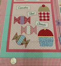 Childs Sweet Shoppe Quilt Panel