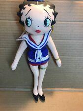 BETTY BOOP Stuffed Plush Doll, Sailor Betty BOOP - KellyToy