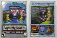StarCraft: Battle Chest Brood War Expansion Set Windows/ Mac PC BRAND NEW SEALED