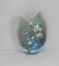"Goebel Artis Orbis Renoir Tulip Vase 406 of 2000 Flowers of Spring 9 3/4 "" CERT"
