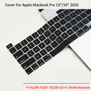 "Silicone Keyboard Cover Protector for 2020 MacBook Pro 13""/16"" A2289 A2338 A2141"