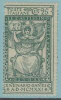 ITALY 134 MINT  HINGED OG * NO FAULTS EXTRA FINE !