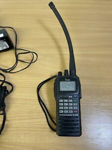 ICOM VHF Airband Transceiver IC-A6E Handset With Charger BC-144N