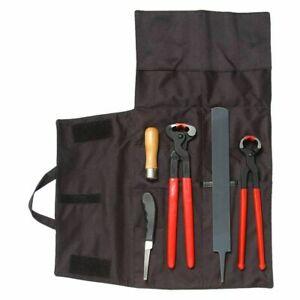 Tough 1 Farrier Shoeing Tool Kit 5 Piece Set  Horse Shoeing Tool FREE SHIPPING