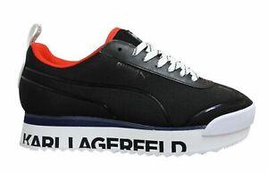 Puma Roma Amor x Karl Lagerfeld Mid Platform Lace Up Womens Trainers 370056 01