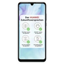 Huawei P30 Lite midnight black 128GB 4GB RAM LTE 4G WLAN Android Smartphone WOW