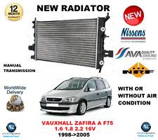 Per Vauxhall Zafira F75 1.6 1.8 2.2 16V 1998-2005 NUOVO RADIATORE ** OE Quality **