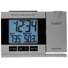 La Crosse Technology Wt-5220u-it Projection Alarm Clock With Indoor/outdoor