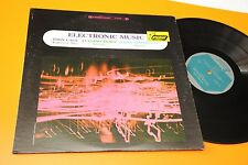 john cage lp electronic music orig usa '70 ex top avantgarde experimental