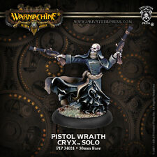 Warmachine: Cryx - Pistol Wraith - Solo PIP 34024 NEW