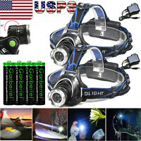 Powerful T6 LED Zoomable Headlamp Rechargeable 18650 Headlight Head Lamp NEW!