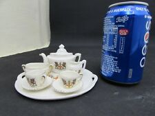 Gemma Porcelain Crested Ware Tea Set, City Of London Crests