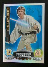 NEU!!! topps Star Wars Force Attax Limitierte Karte LE3 Luke Skywalker