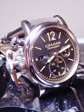 Graham Chronofighter Vintage Day Date 43 100% NIB AMAZING Discount 2cvas.U01A