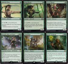 Mono Green Elf Ramp New Deck #2 - Mystic - 60 Cards Magic The Gathering MTG
