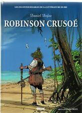 Robinson Crusoé. Dessins de J-C VERGNE. Littérature en BD. 2010. EO - état neuf