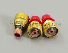 """3pcs 2.4mm 3/32"""" 45V44 Gas Lens TIG WP-9 20 Collet Body"""