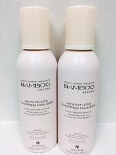 2 Alterna Bamboo Volume Weightless Whipped Mousse 6.0 oz unisex for all hair