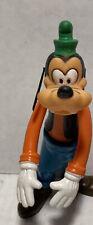"""Vintage Walt Disney Goofy Plastic Moveable Figure 6"""" product of Hong Kong"""