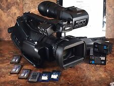 Sony PMW-EX3 Camcorder + 3 SxS Cards + Extra Battery