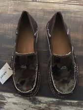 Ariat Cruisers Chocolate Chip Suede Camo Slip On Shoes Women's Size 6