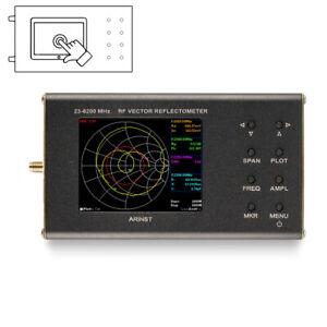 Portable VNA SWR vector network analyzer reflectometer Arinst VR 23-6200 MHz