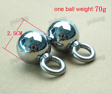 One pair Metal Ball Enlargement Weight Hanger Stretcher Extend