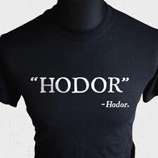 Hodor Game Of Thrones Inspired T Shirt Bran Stark Horror GOT Black