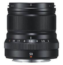 FUJIFILM Single Focus Medium Telephoto Lens XF 50mm F2 R WR B Black EMS
