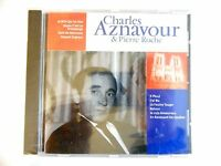 CHARLES AZNAVOUR & PIERRE ROCHE - 1ére Ed. || CD NEUF (boitier fendu) ! PORT 0€
