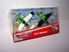 RARE DISNEY PLANES NED & RIPSLINGER DIECAST FROM ABOVE THE WORLD OF CARS