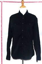 Banana Republic Women's Dress Shirt Black Cotton Top Sz M #2156