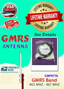 GMRS Base Antenna 462-467 MHz   Up to 6 dB