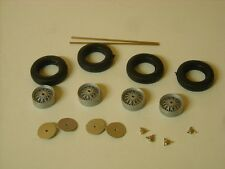 1/24th scale etched wire wheels assembled  by K&R Replicas