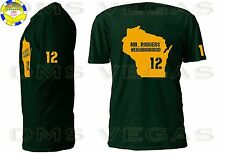 Green Bay Packers Aaron Rodgers Mr. Neighborhood Jersey Tee Shirt Men Size S-5XL