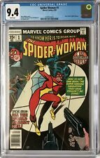 SPIDER WOMAN  #1 -  CGC NM (9.4) 1ST ISSUE /ORIGIN /WHITE PAGES/** NO RESERVE **