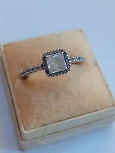 LOVELY STERLING SILVER PANDORA RING SIZE P