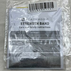 Beachbody Strength Band Yellow Brand New