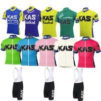 YSO125 Road Mens Racing MTB Cycling Short Sleeve Jersey and bib Shorts Kit