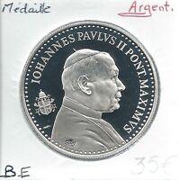 MEDAILLE - PAPE JEAN PAUL II (Année 1978) EN ARGENT // Qualité: BE