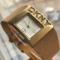 DKNY Women Watch Quartz Luxury Crystals Donna Karan New York Original Stylish