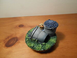 Blueberry Candle  topper  for jar candle Vintage Home Interiors